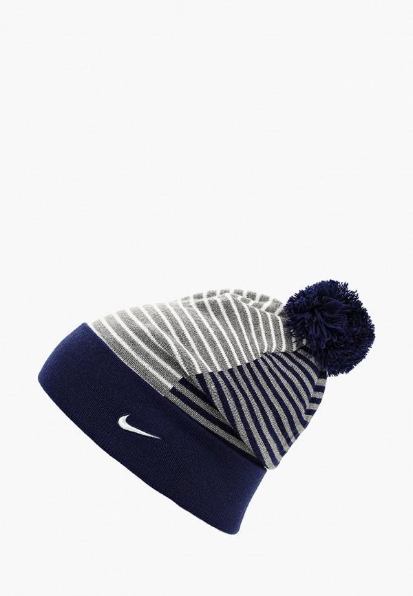 45f2a85e Купить женскую шапку Nike AO8592-429 арт. NI464CUCMEF1 синего цвета ...
