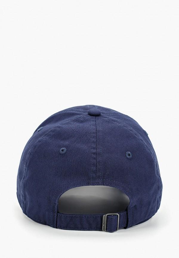 Фото 2 - Бейсболка Nike синего цвета