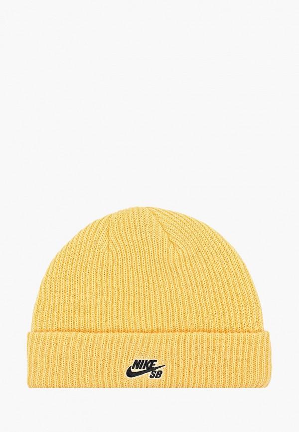Фото - Шапку Nike желтого цвета