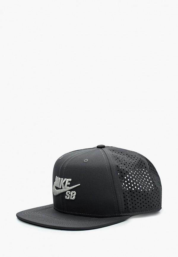 Купить Бейсболка Nike, Nike SB Aerobill Hat, ni464cukbaj8, серый, Весна-лето 2018