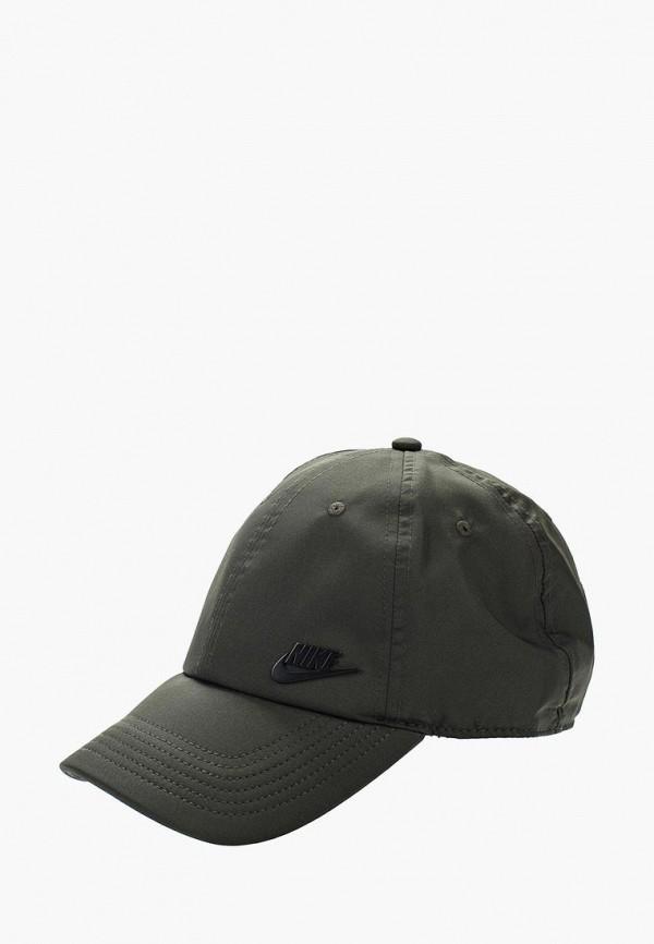 Бейсболка Nike, Unisex Nike Sportswear H86 Cap, ni464cukbam3, хаки, Весна-лето 2018  - купить со скидкой
