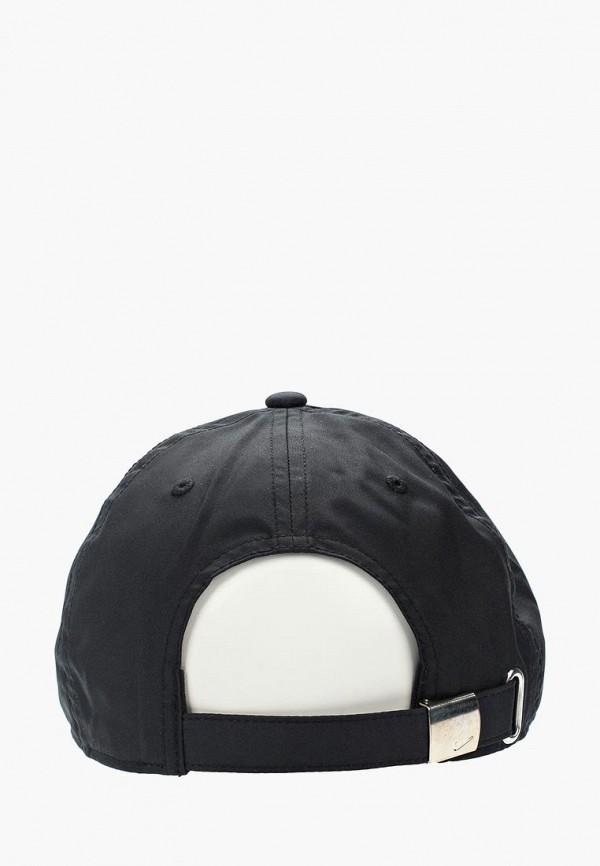 Фото 2 - Бейсболка Nike черного цвета