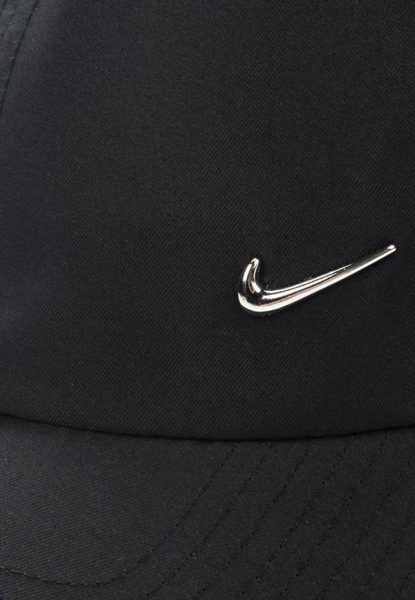 Фото 3 - Бейсболка Nike черного цвета