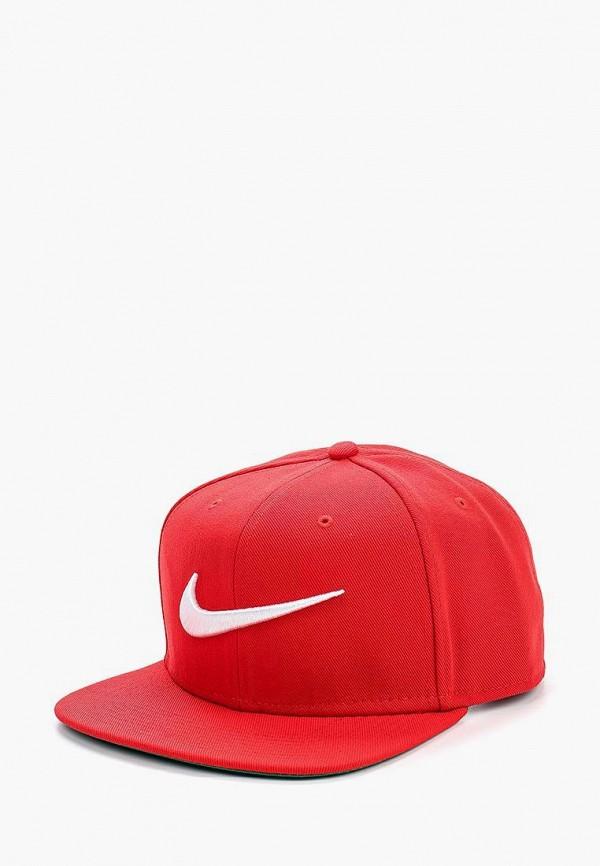 Купить Бейсболка Nike, Unisex Nike Swoosh Pro Hat, ni464cupla76, красный, Весна-лето 2018