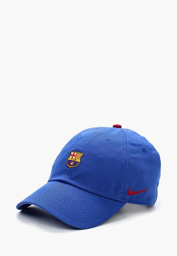 Купить Бейсболка Nike, FC Barcelona Heritage86 Cap, ni464curyl47, синий, Осень-зима 2018/2019