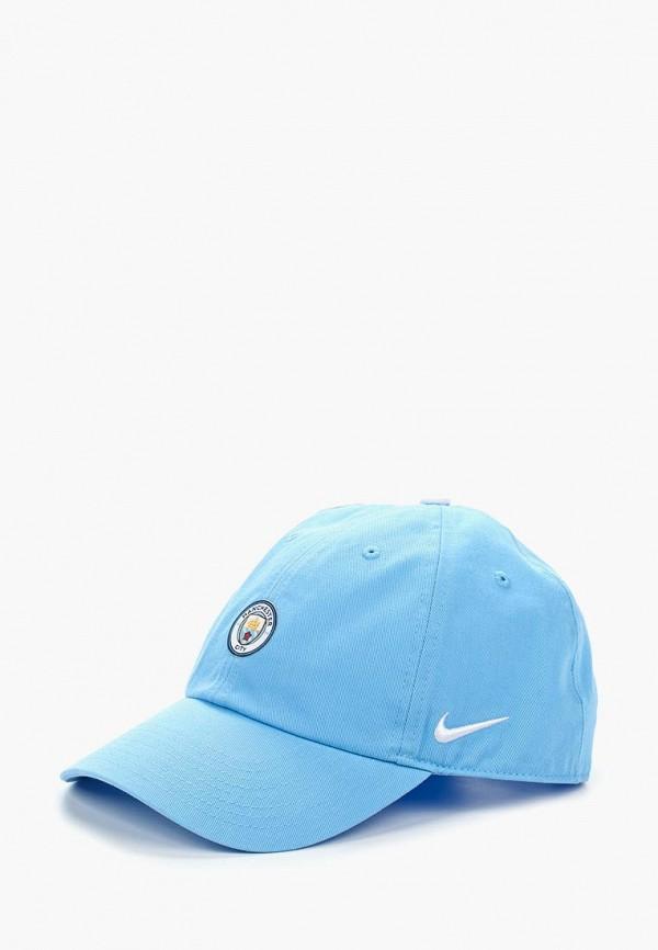 Купить Бейсболка Nike, Manchester City FC Heritage86 Cap, ni464curyl48, голубой, Осень-зима 2018/2019