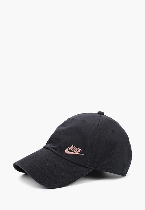 Купить Бейсболка Nike, W NSW H86 CAP FUTURA CLASSIC, ni464cwcmeg2, черный, Осень-зима 2018/2019