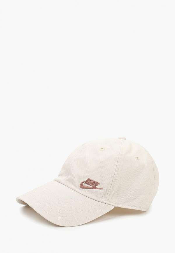 Купить Бейсболка Nike, W NSW H86 CAP FUTURA CLASSIC, ni464cwcmeg3, белый, Осень-зима 2018/2019