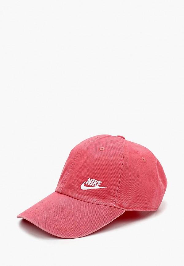 Купить Бейсболка Nike, W NK H86 CAP FUTURA CLASSIC, NI464CWKBAO4, розовый, Весна-лето 2018