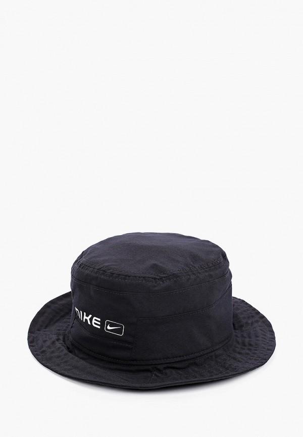 женская панама nike, черная