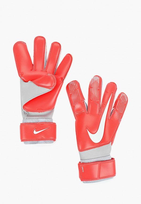 Купить Перчатки вратарские Nike, Grip3 Goalkeeper, NI464DUBWCV5, красный, Осень-зима 2018/2019