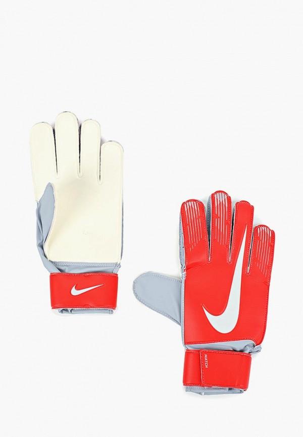 Купить Перчатки вратарские Nike, Match Goalkeeper, NI464DUBWCV8, красный, Осень-зима 2018/2019