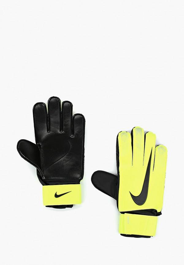 Купить Перчатки вратарские Nike, Match Goalkeeper, NI464DUBWCV9, желтый, Осень-зима 2018/2019