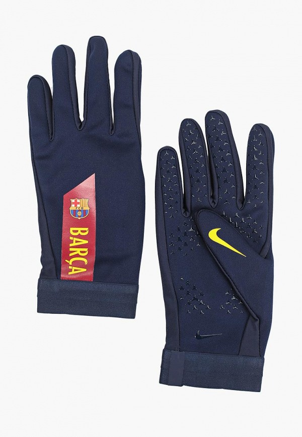 женские перчатки nike, синие