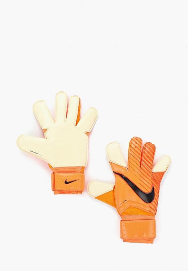Перчатки вратарские Nike, NK GK GRP3, NI464DUKBAJ1, оранжевый, Весна-лето 2018  - купить со скидкой