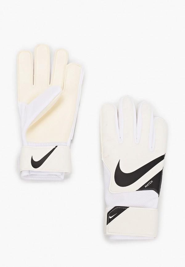 женские перчатки nike, белые