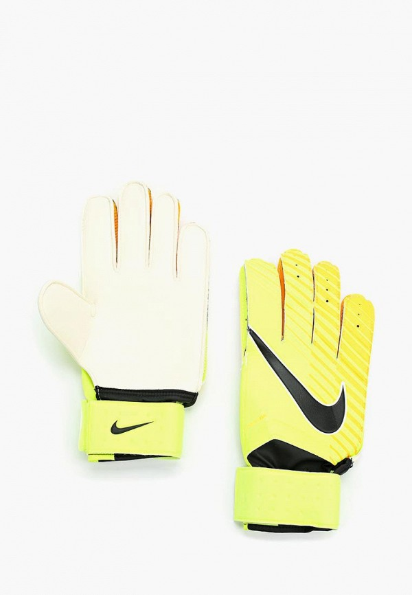 Купить Перчатки вратарские Nike, NK GK MTCH, NI464DUUFA92, желтый, Осень-зима 2017/2018