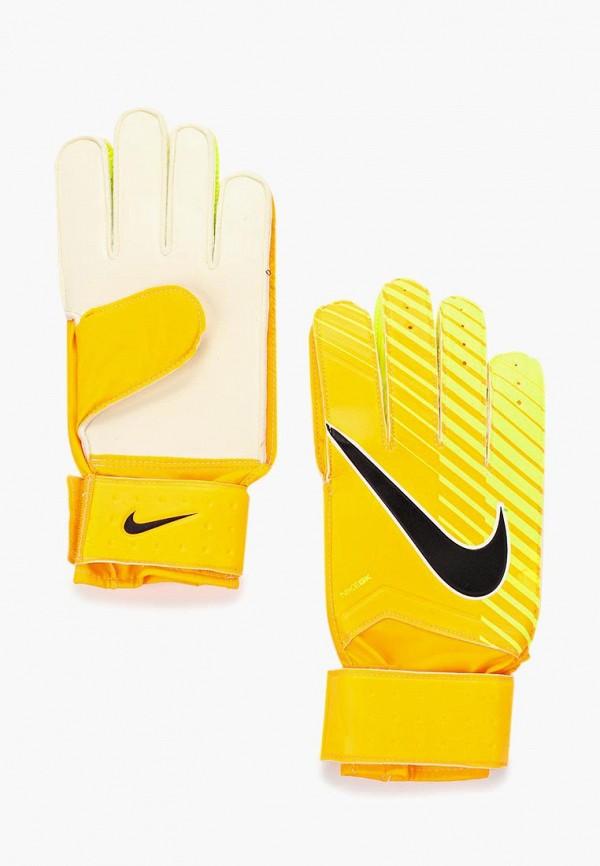 Перчатки вратарские Nike Nike NI464DUUFA93 nike перчатки для фитнеса женские nike accessories