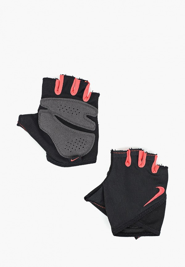 Перчатки для фитнеса Nike Nike NI464DWFTJM3 топ бра для фитнеса женский nike victory shape bra h s цвет черный 805549 010 размер l 46 48
