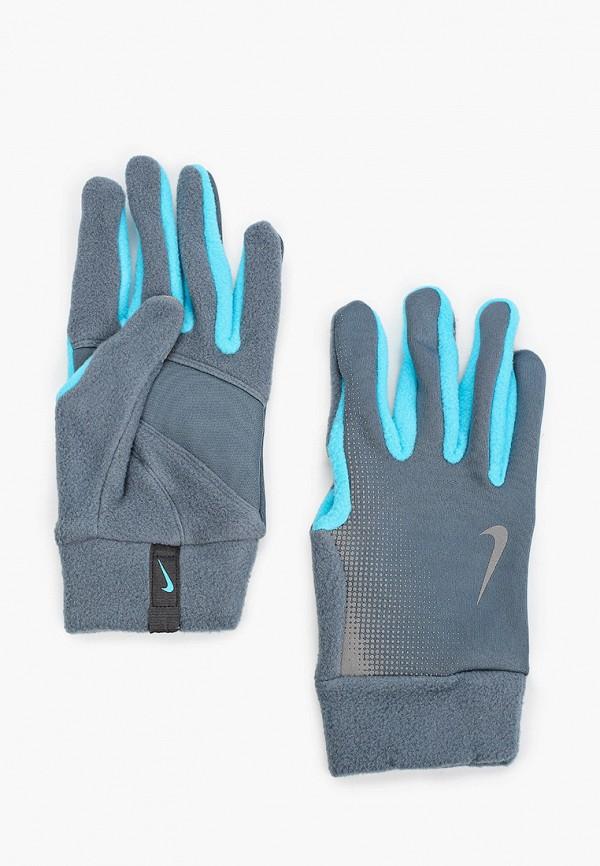 женские перчатки nike, серые