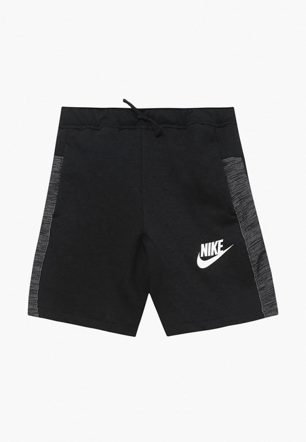 Купить Шорты Nike, B NSW SHORT AV15, NI464EBBDVA5, черный, Весна-лето 2018