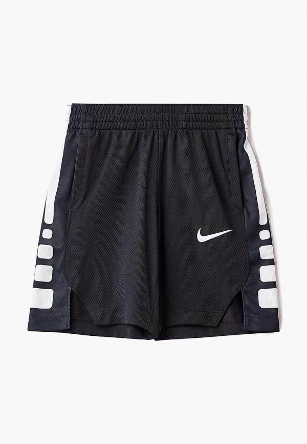 Купить Шорты спортивные Nike, B NK DRY SHORT ELITE STRIPE, NI464EBBYMS1, черный, Осень-зима 2018/2019