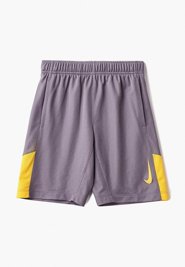 Купить Шорты спортивные Nike, B NK SHORT ACCELER8, NI464EBBYMS5, серый, Осень-зима 2018/2019