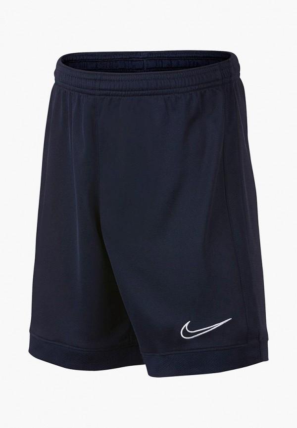 спортивные спортивные шорты nike для мальчика, синие