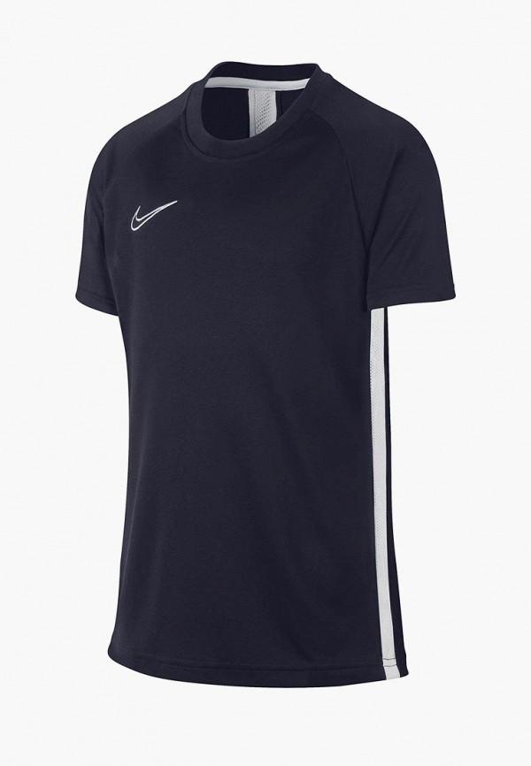 спортивные футболка nike для мальчика, синяя
