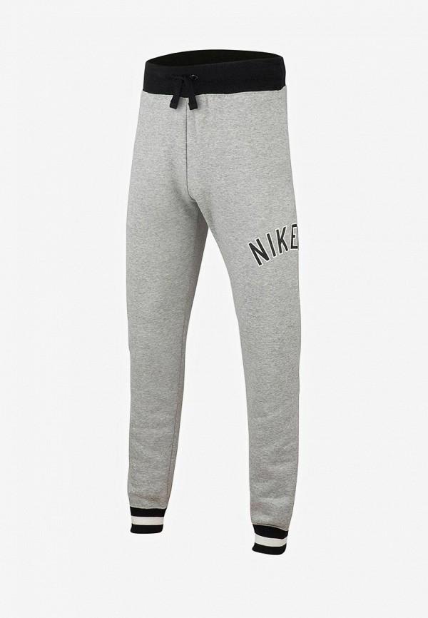 спортивные спортивные брюки nike для мальчика, серые