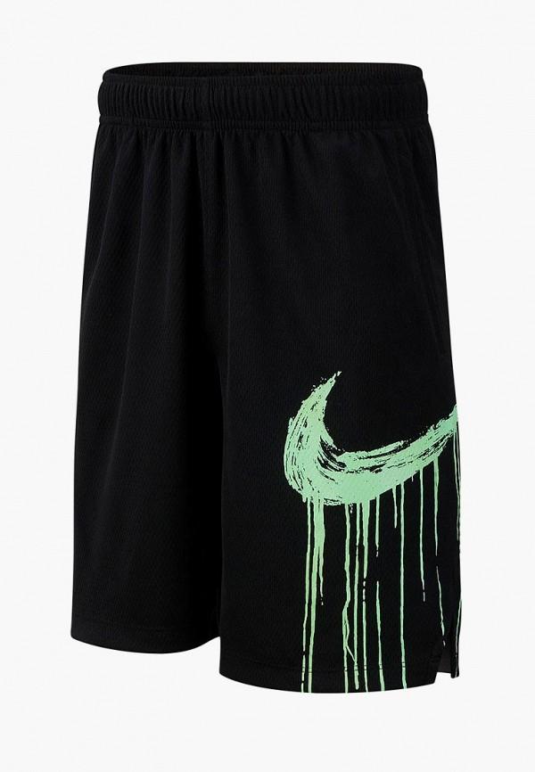 Купить Шорты спортивные Nike, B NK DRY SHORT GFX, ni464ebdsip7, черный, Весна-лето 2019