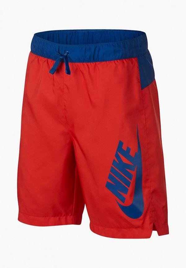 Купить Шорты спортивные Nike, B NSW WOVEN SHORT, ni464ebdslc2, красный, Весна-лето 2019