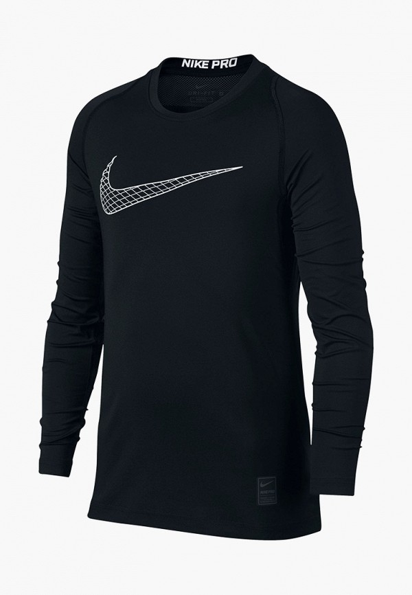 Фото - Лонгслив спортивный Nike черного цвета