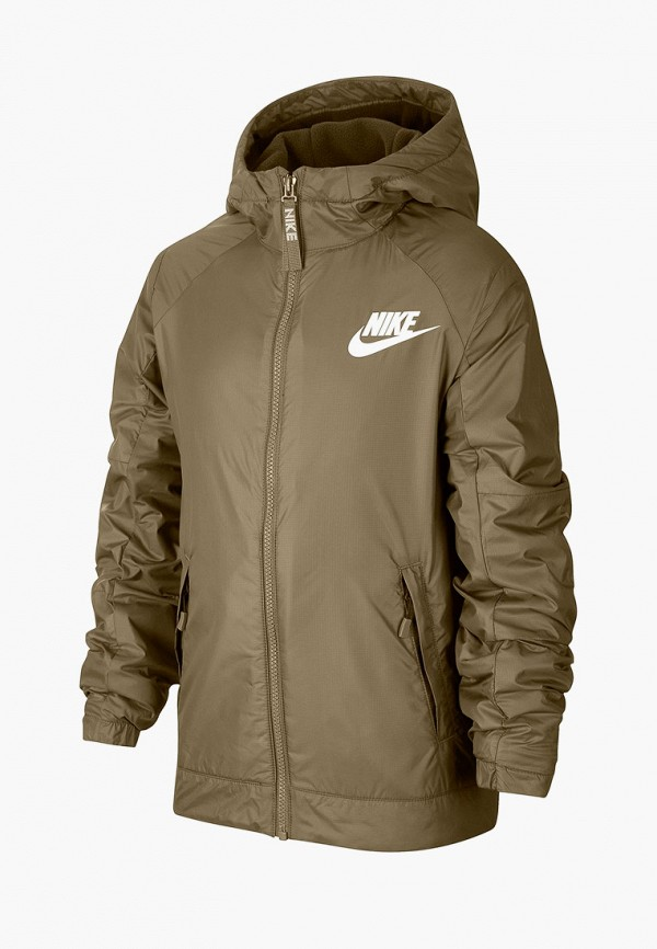 куртка nike для мальчика, хаки