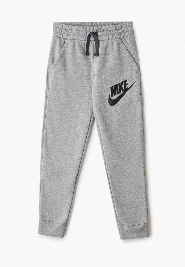 спортивные брюки nike для мальчика, серые