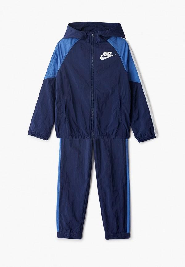 спортивный костюм nike для мальчика, синий