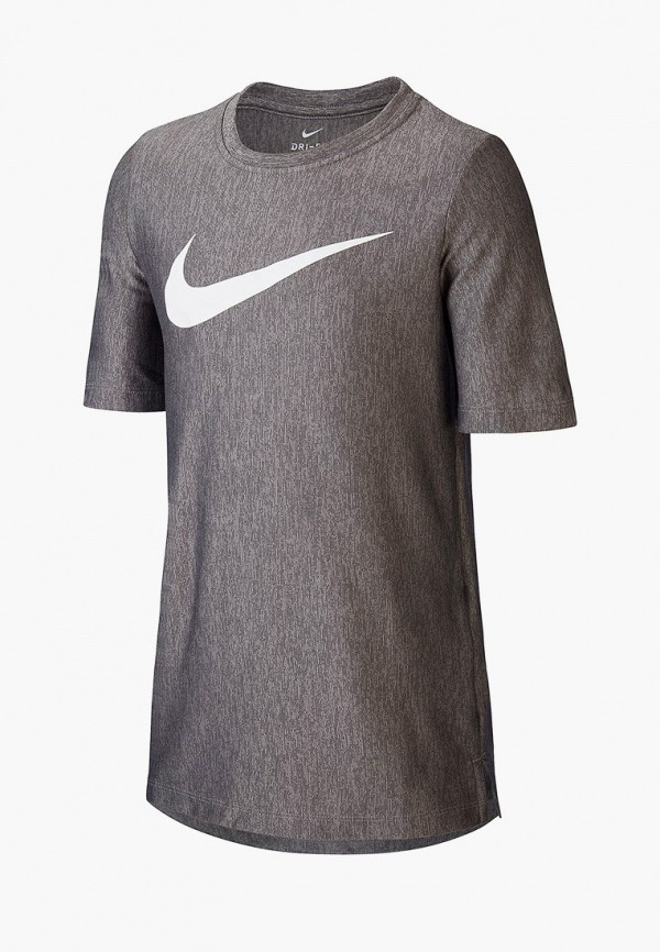 Фото - Футболку спортивная Nike серого цвета