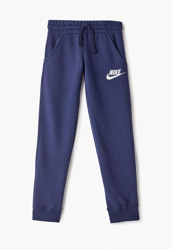 спортивные брюки nike для мальчика, синие