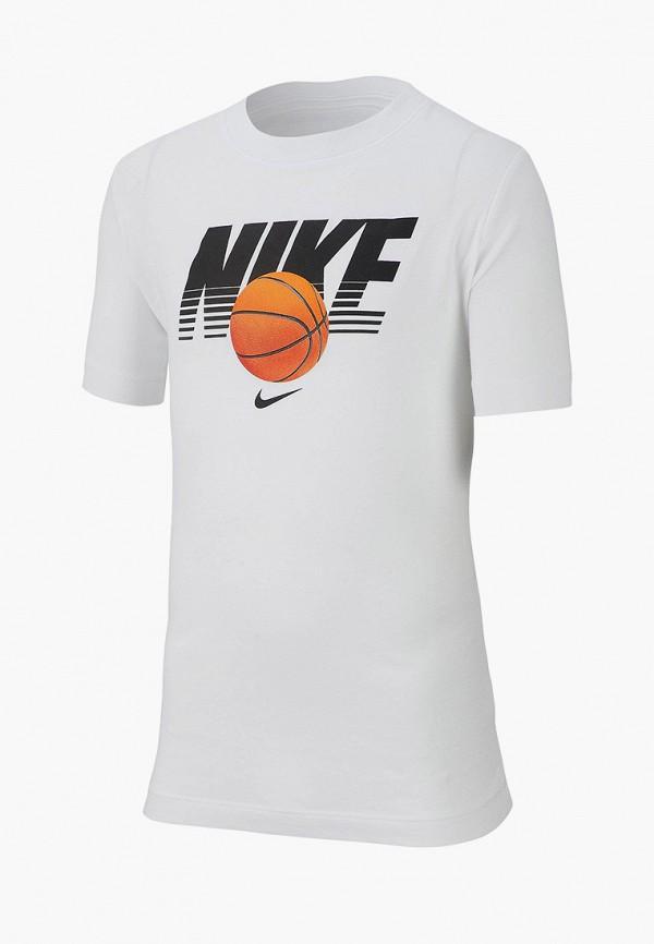 Фото - Футболку Nike белого цвета