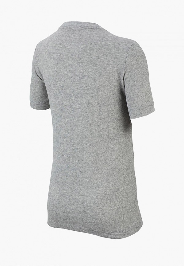 Фото 2 - Футболку Nike серого цвета