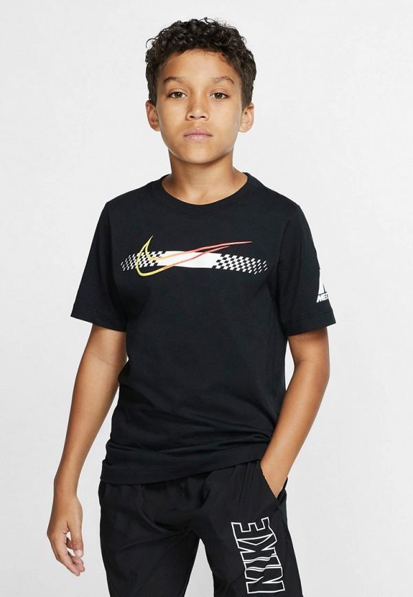 Фото 3 - Футболку Nike черного цвета