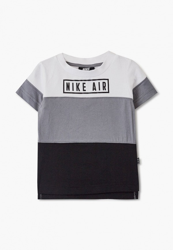футболка nike для мальчика, разноцветная