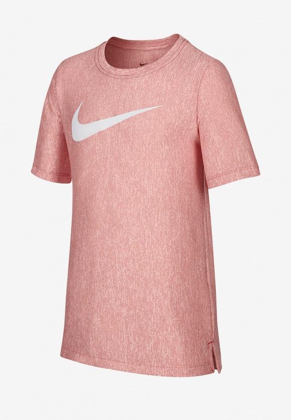 футболка nike для мальчика, красная