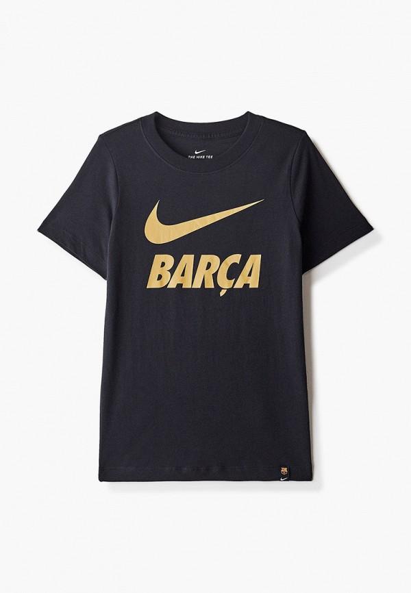 футболка nike для мальчика, черная