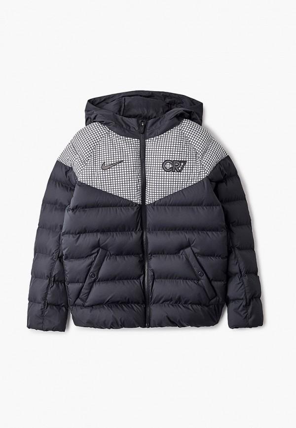 куртка nike для мальчика, черная