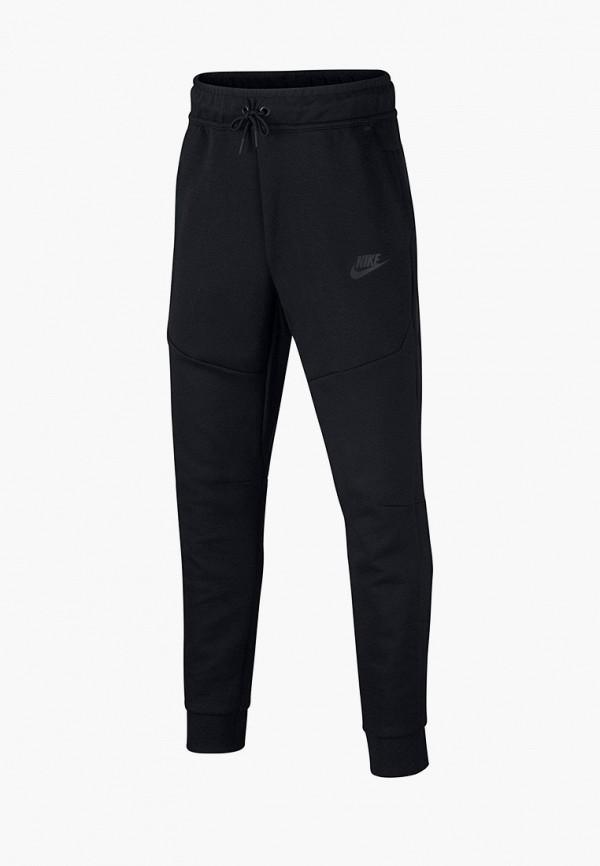 спортивные брюки nike для мальчика, черные