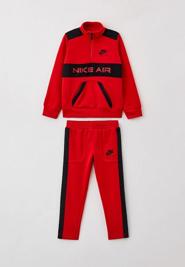 спортивный костюм nike для мальчика, красный