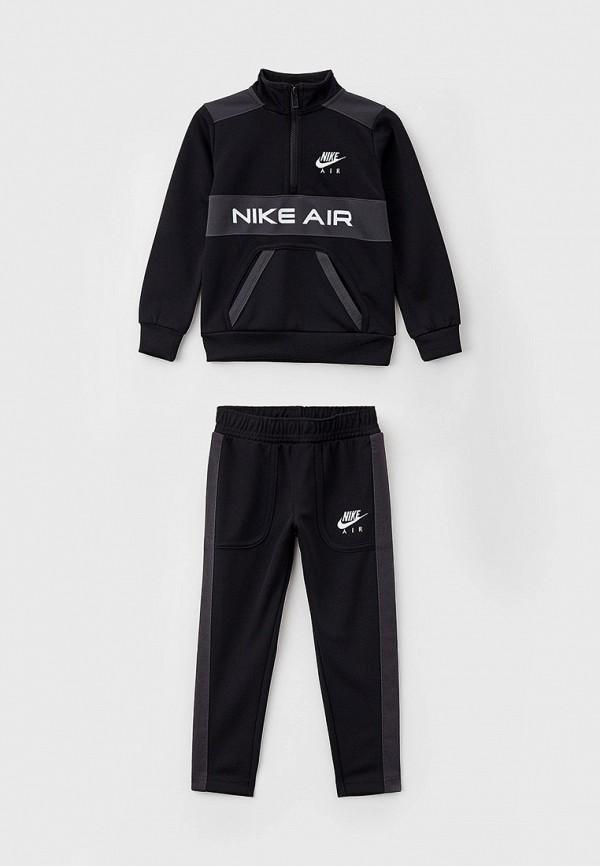 спортивный костюм nike для мальчика, черный