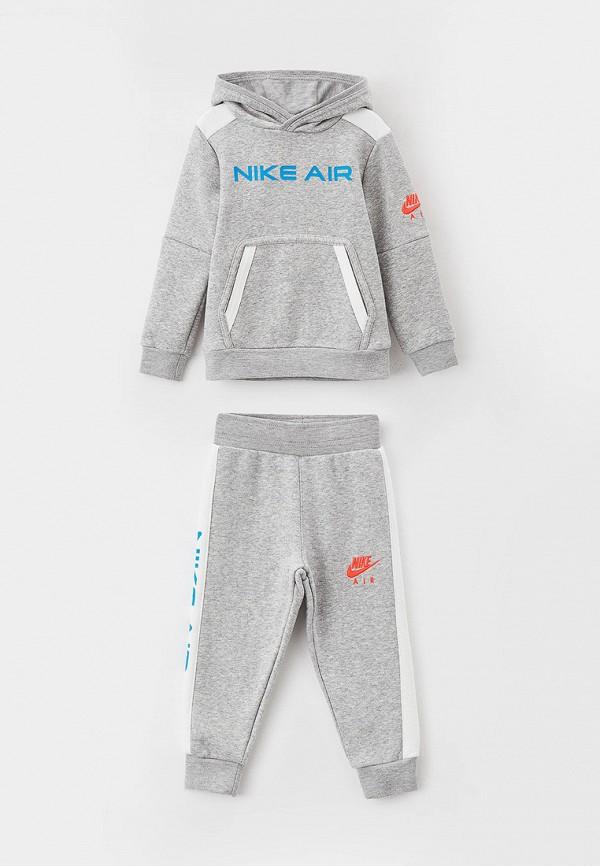 спортивный костюм nike для мальчика, серый