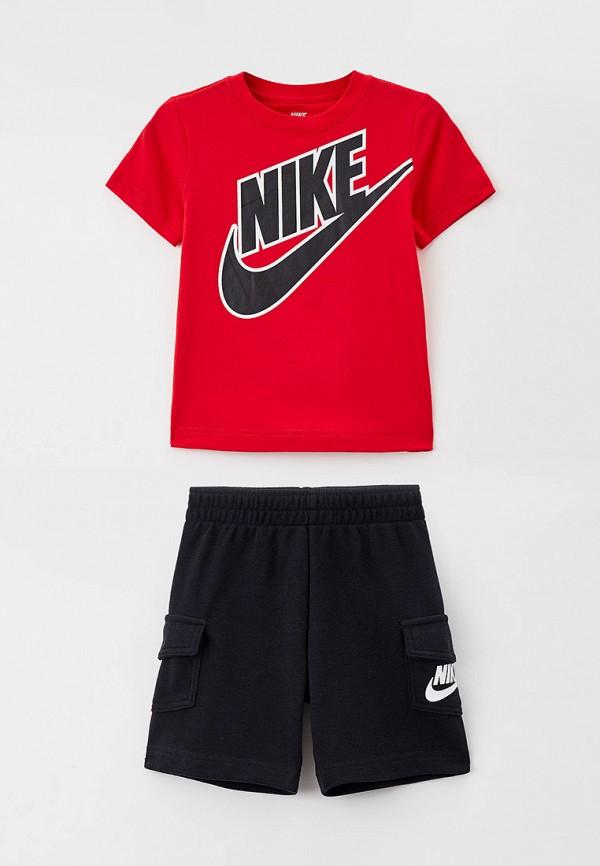 спортивный костюм nike для мальчика, разноцветный